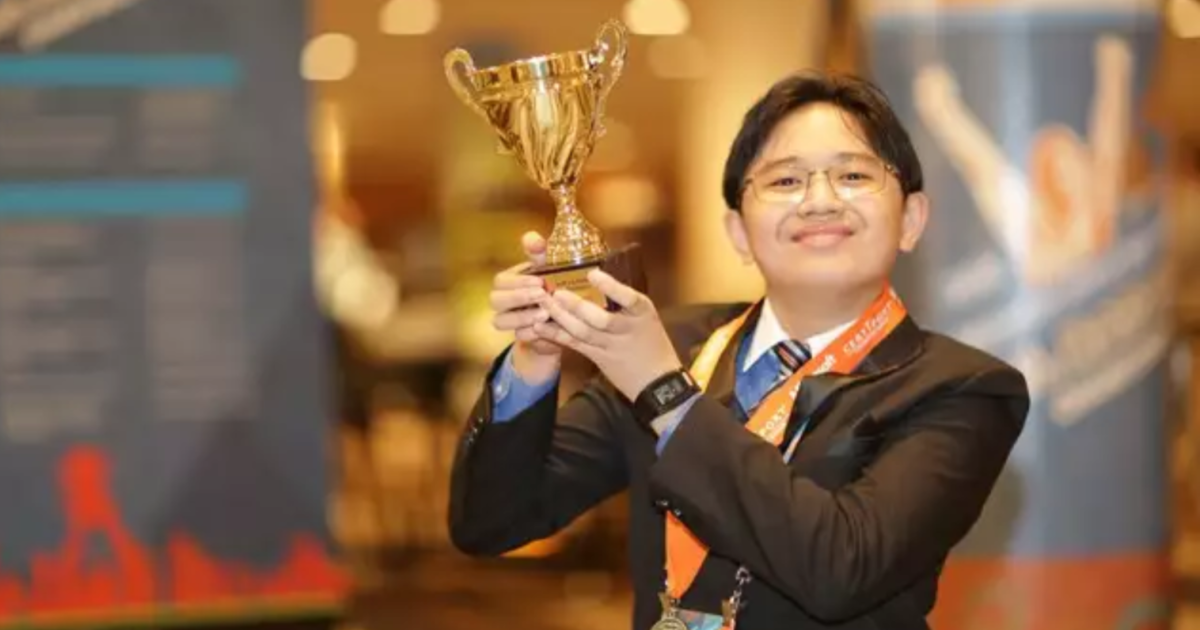 15-year-old named global Excel champ