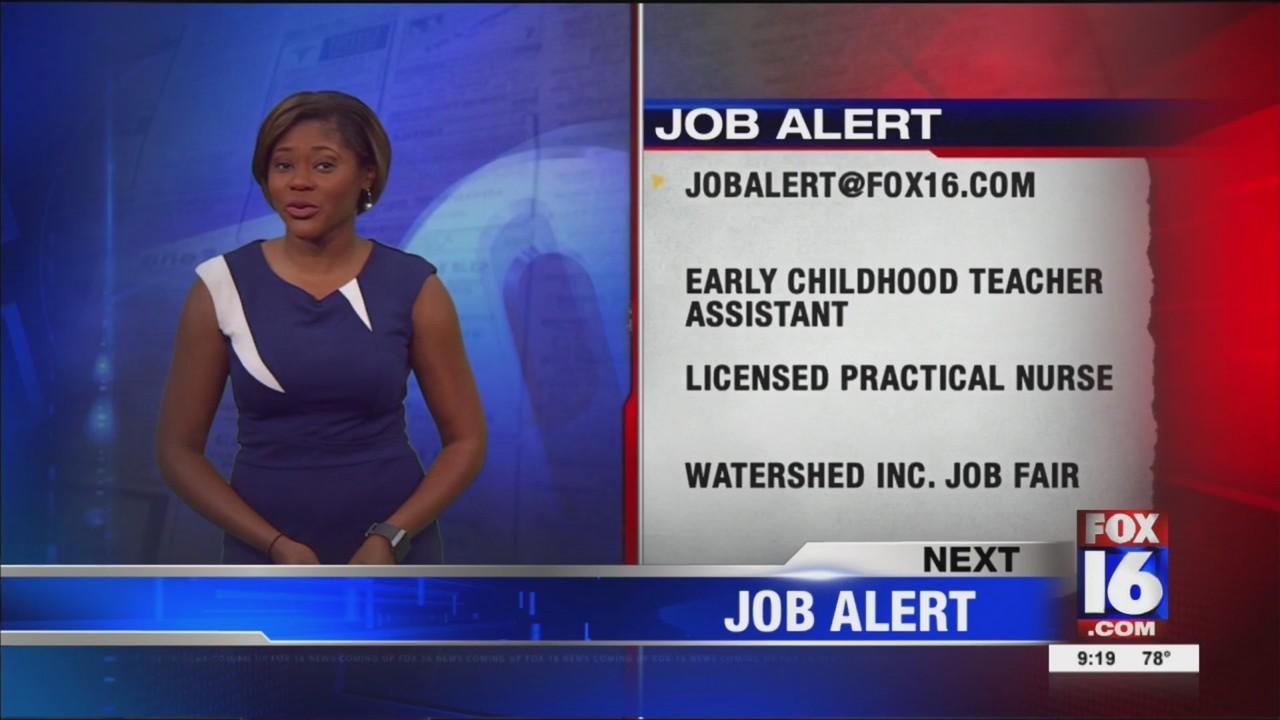 Job Alert for 8-10-18
