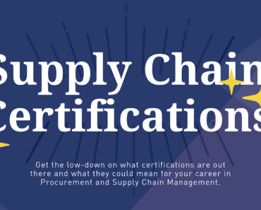 4 Supply Chain Certifications to Take You to the Next Level