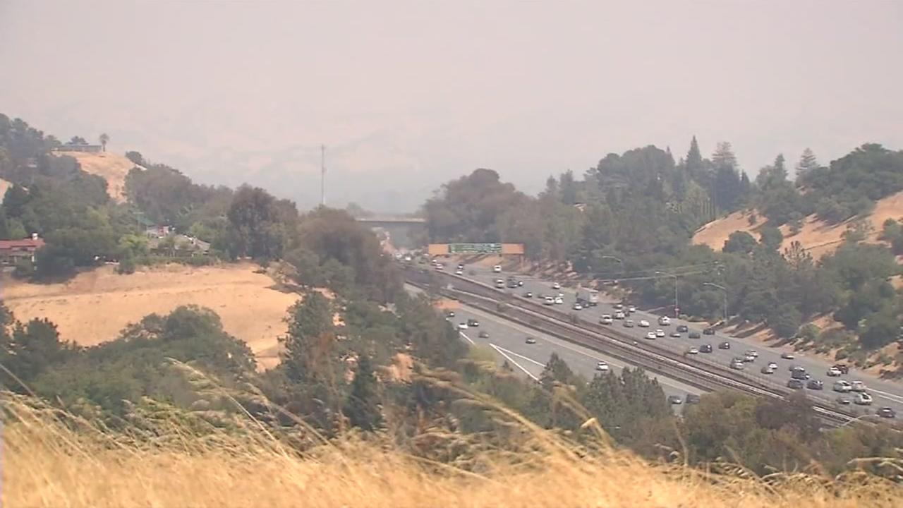 California fires prompt air quality advisory for Bay Area this weekend