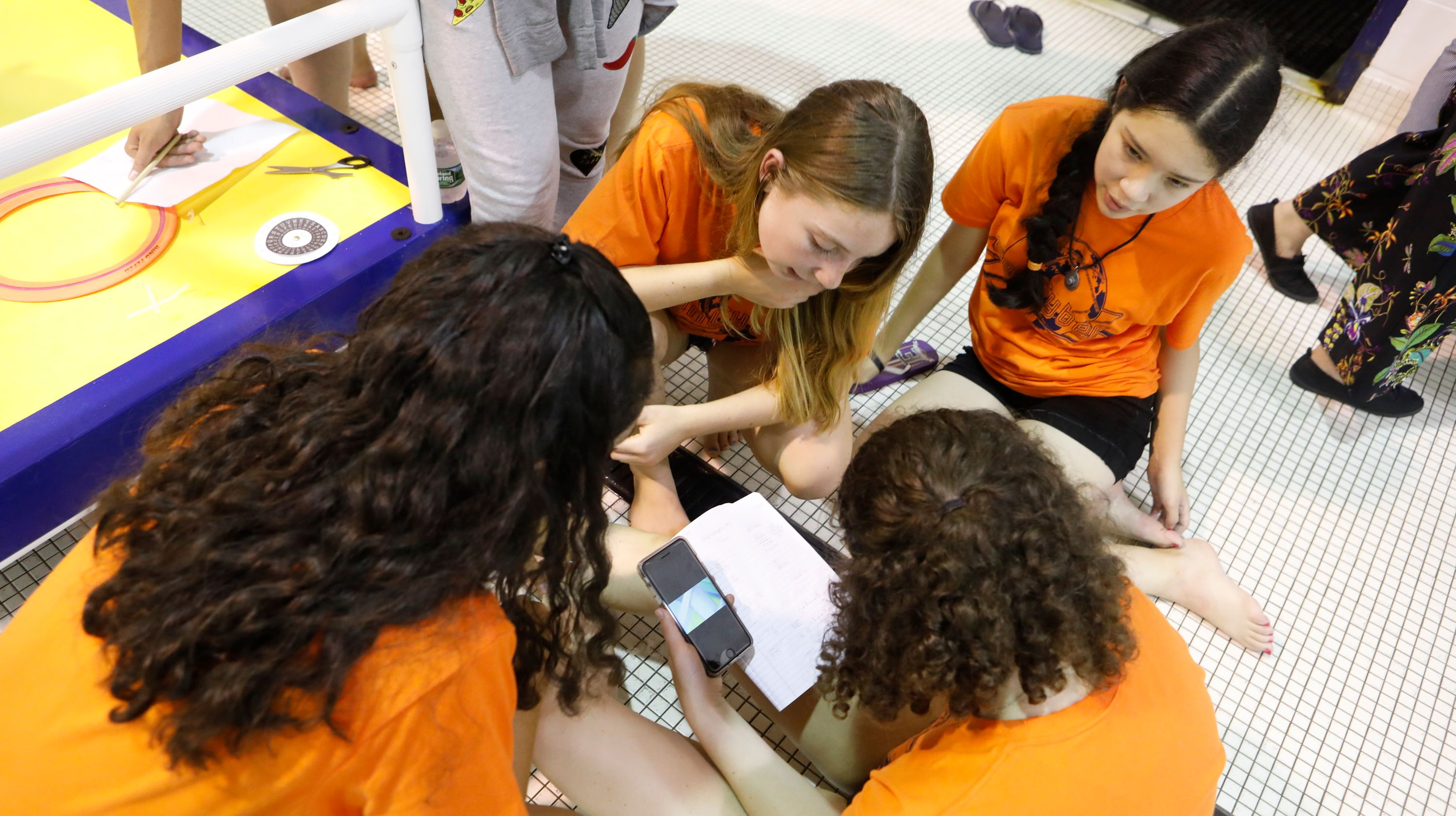 High school students utilize robotics to master cybersecurity