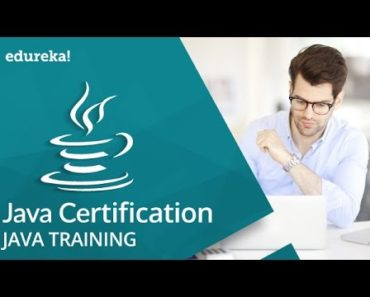 Java Certification Tutorial | Java Tutorial For Beginners | Java Training | Edureka