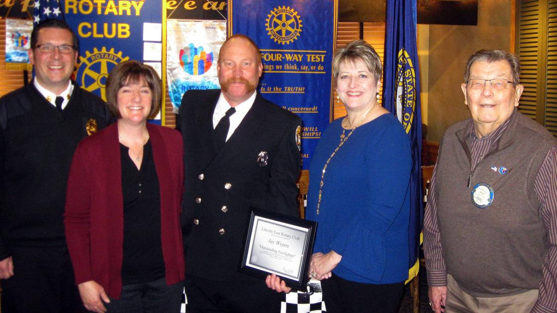 Jay Weyers named Firefighter of the Year | Local
