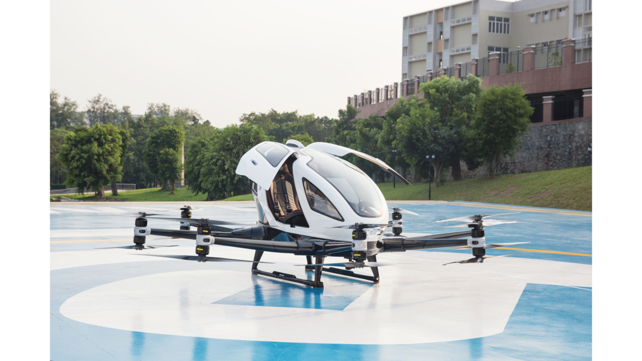 FACC and EHang develop new solutions for autonomous flying