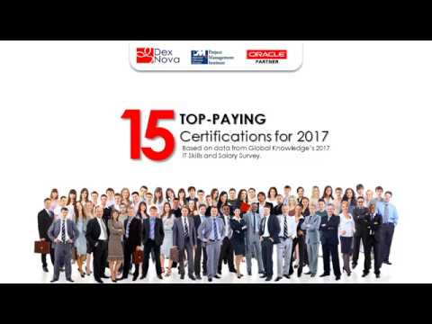 15 TOP PAYING CERTIFICATIONS 2017