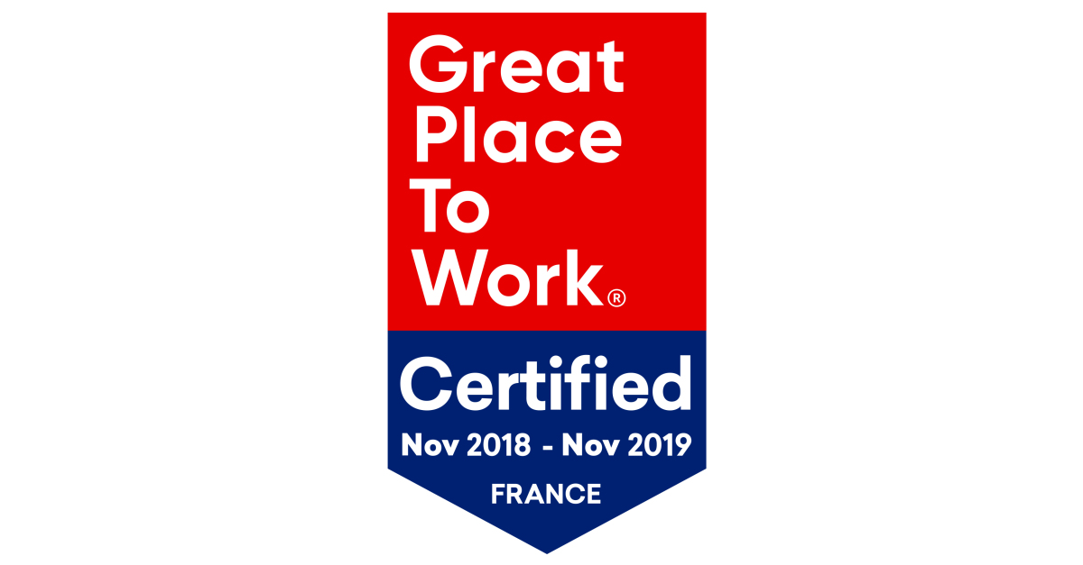 Bonitasoft Certified as a Great Place to Work®