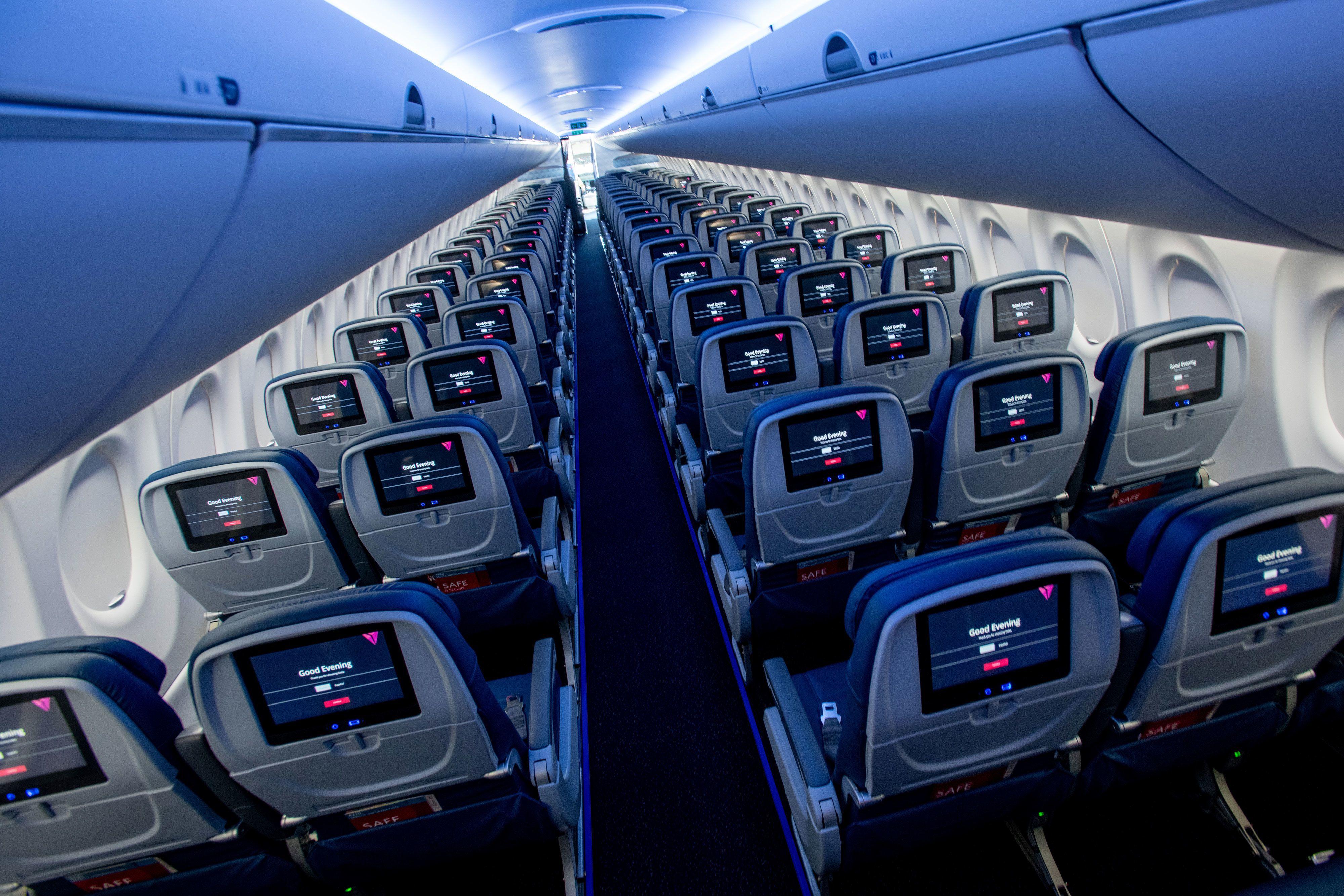 Government shutdown postpones debut of Delta's brand-new A220 jets, av...