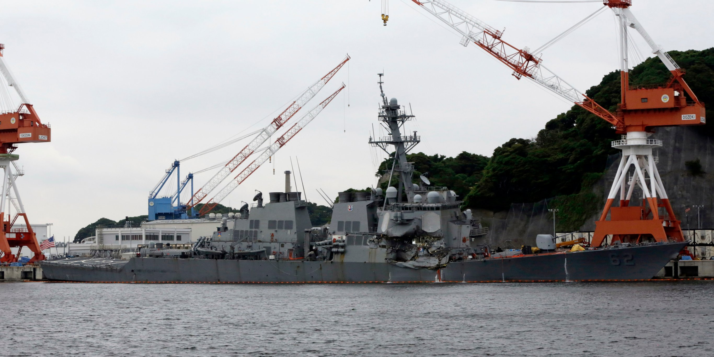 USS Fitzgerald faced these serious problems before deadly crash