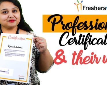 Professional Certifications - How it helps in career growth?, How to choose?