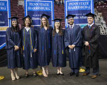 Penn State Harrisburg spring 2019 commencement featured first student ...