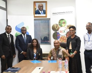 Standard Chartered Bank Signs MoU To Support Farmers Through GCX | Ban...