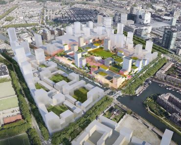 MVRDV Designs Convention Centre with a Green Roof in Utrecht
