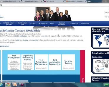 Software Testing Certification - ISTQB CSTE CSQA Testing Certifications Detaisl